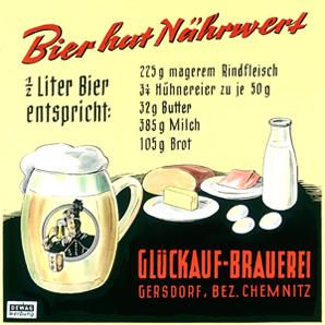 Glückauf DDR Werbung 2