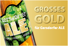 Grosses Gold Gersdorfer Ale Meiningers International Craft Beer Award