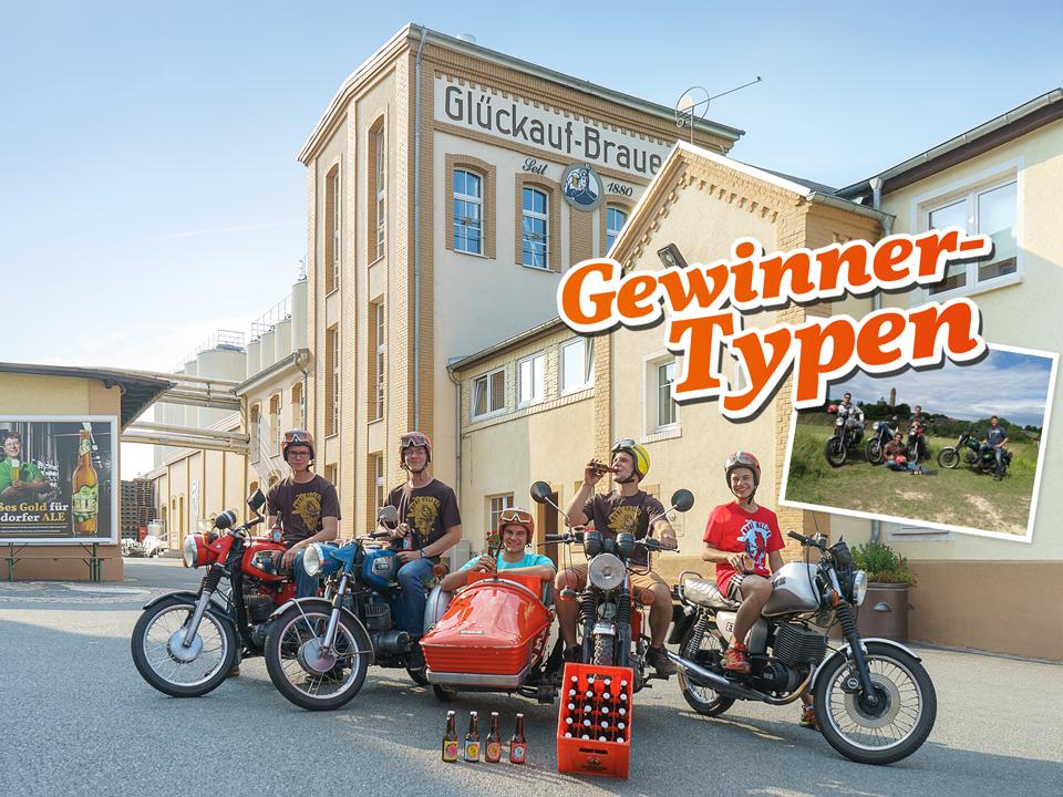 Glückauf Brauerei Gersdorf - Bubi Helles Gewinner