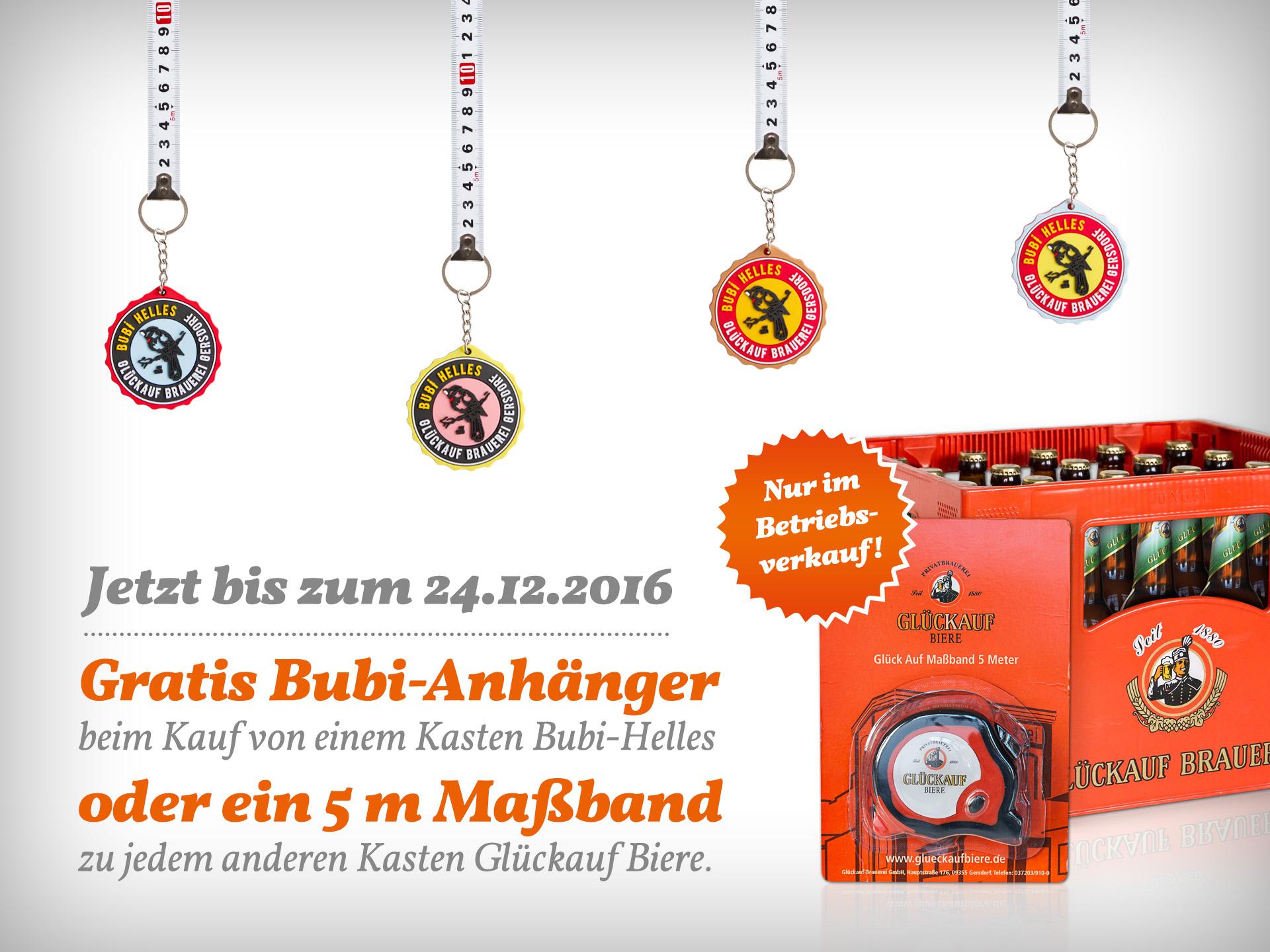 Glückauf Brauerei Gersdorf - Aktion Betriebsverkauf