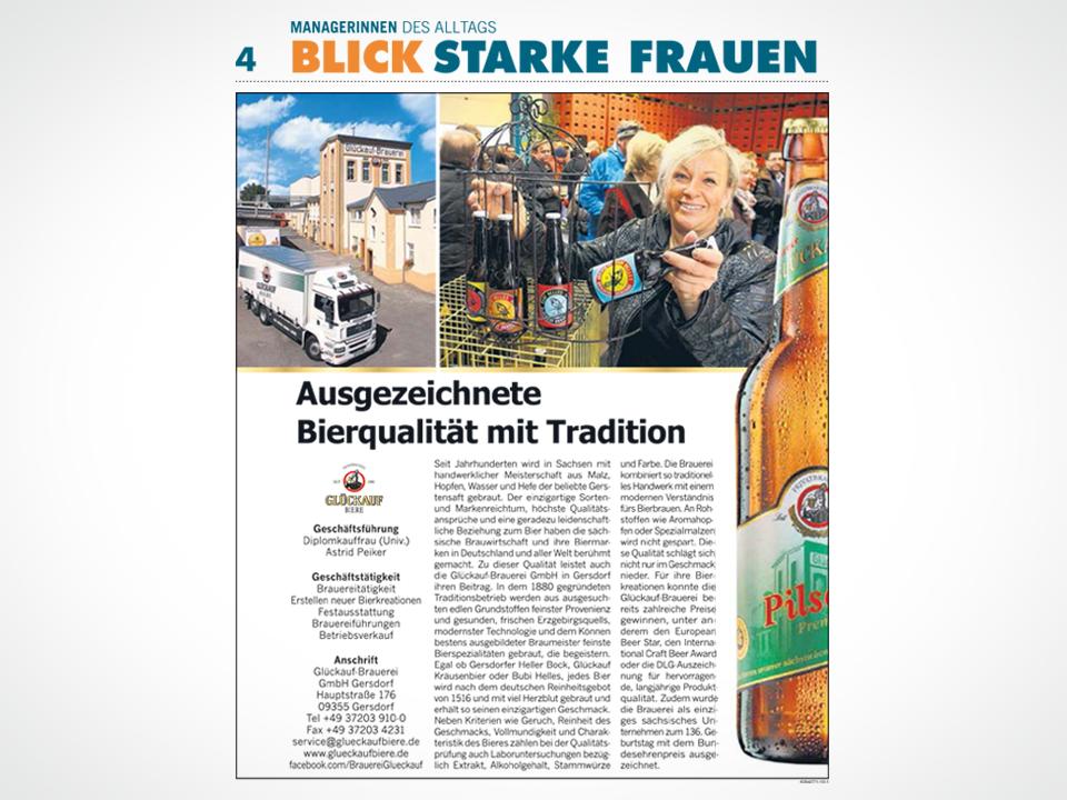 Ausgezeichnete Bierqualität mit Tradition