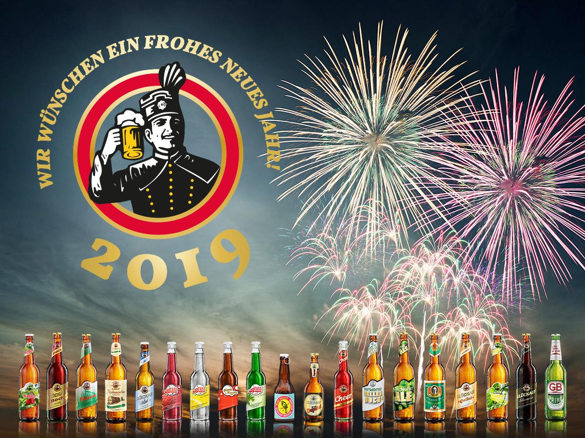 Glückauf Biere wünscht ein gesundes neues Jahr!