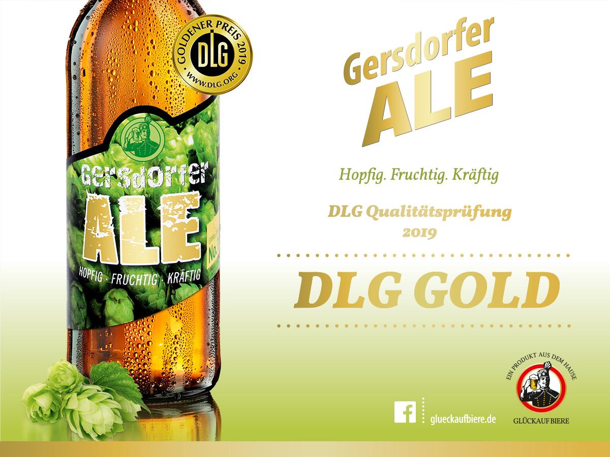 DLG GOLD für unser Gersdorfer ALE!
