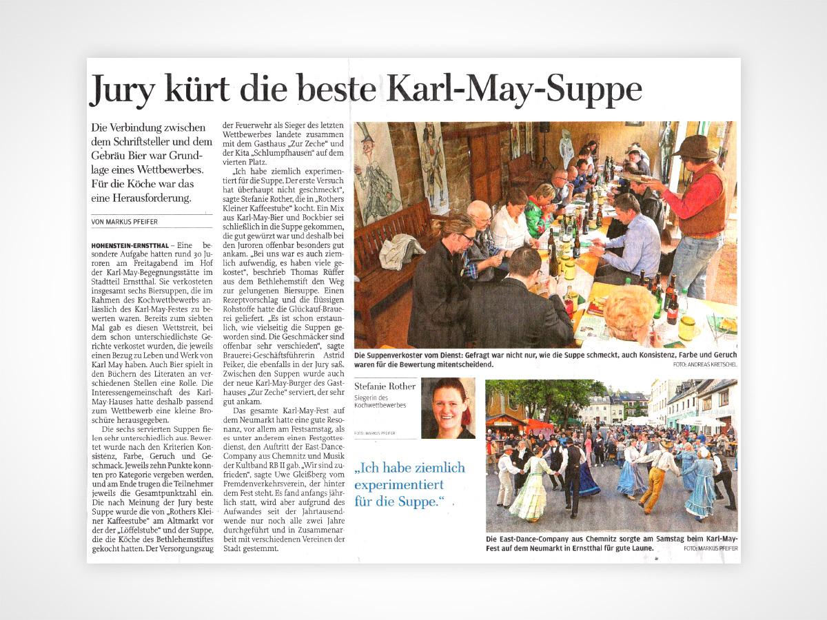 Jury kürt die beste Karl-May-Suppe