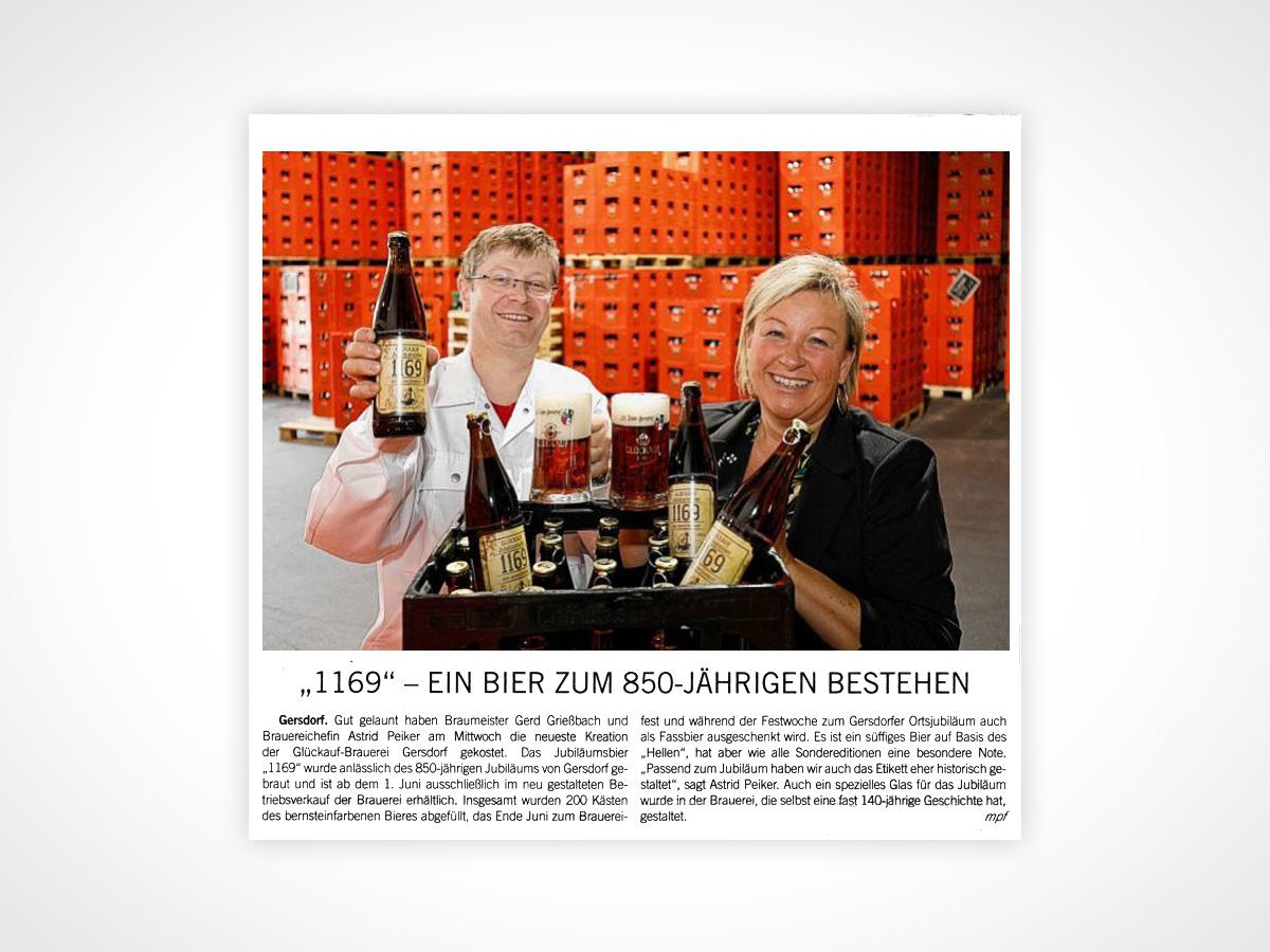 1169 - Ein Bier zum 850-jährigen Bestehen