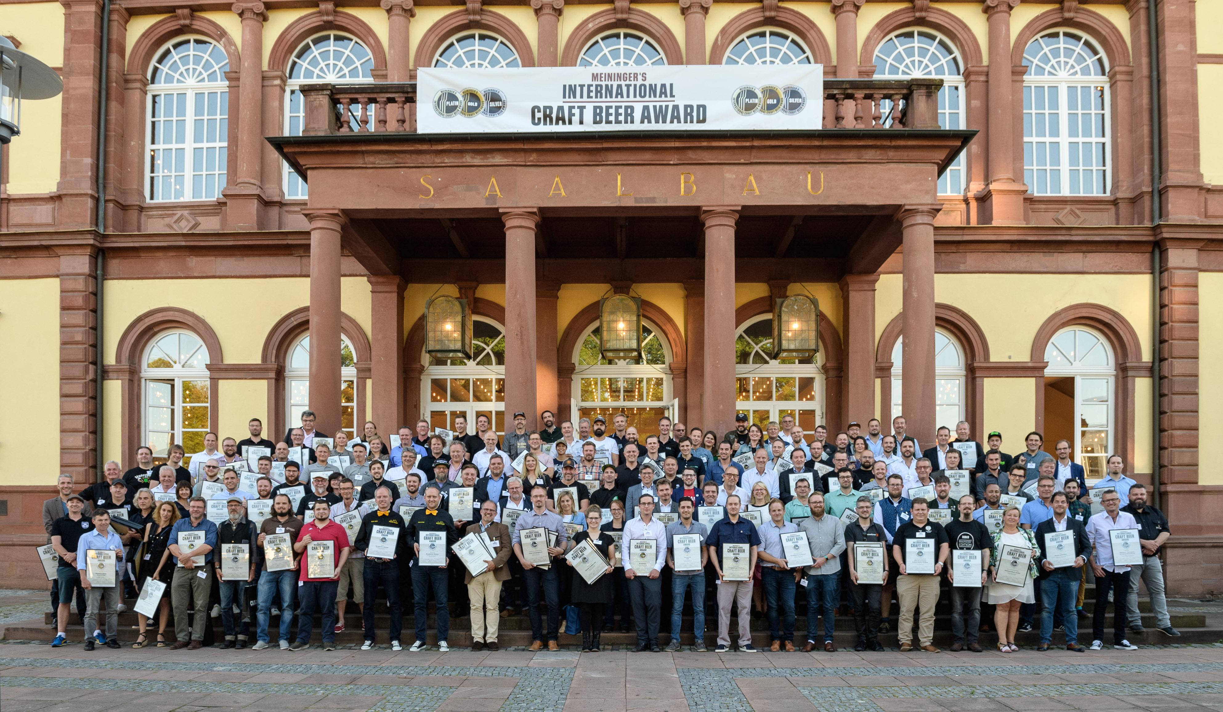Meininger Craftbeer Award Gruppenfoto