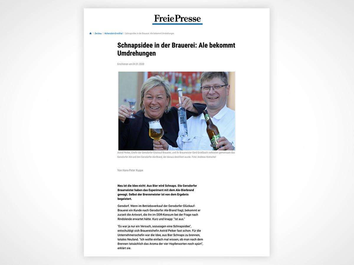 Schnapsidee in der Brauerei: Ale bekommt Umdrehungen